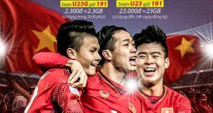 Hướng dẫn đăng ký gói cước U23 Viettel