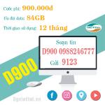 Hướng dẫn cách đăng ký gói cước D900 của Viettel