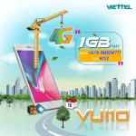 Hướng dẫn cách đăng ký 4G gói cước VUI10 Viettel - gói cước 4G Viettel theo ngày