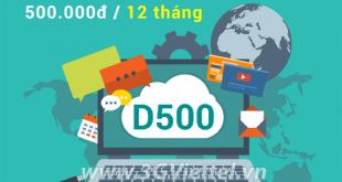 Hướng dẫn cách đăng ký gói cước DC500 Viettel