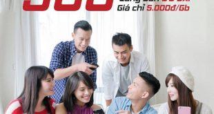 Viettel khuyến mãi cho 500 khách hàng đầu tiên mua 1GB chỉ 5.000đ