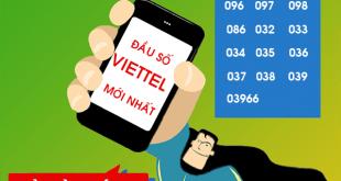 Chi tiết về các đầu số Viettel mới nhất