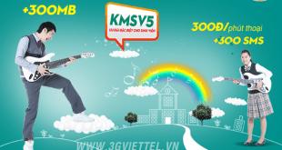 Hướng dẫn đăng ký gói cước KMSV5 của Viettel