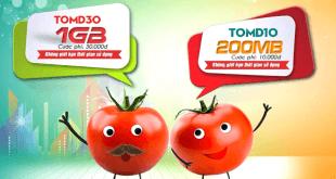 Hướng dẫn cú pháp đăng ký gói cước TOMATO data của Viettel