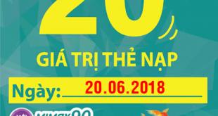 Khuyến mãi Viettel ngày 20/6/2018 trên toàn quốc