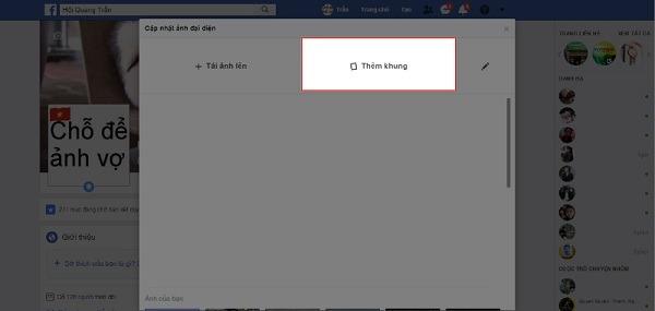 Hướng dẫn cách đổi ảnh World Cup  trên Facebook