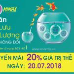 Viettel khuyến mãi 20/7/2018 ưu đãi ngày vàng toàn quốc