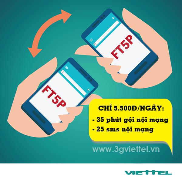 Thông tin chi tiết về gói cước FT5P Viettel