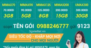 Làm thế nào để đăng ký gói 4G của Viettel trọn gói?