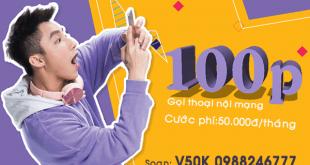 Hướng dẫn đăng ký gói cước V50K của Viettel