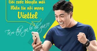 Nhận SMS miễn phí khi đăng ký các gói cước khuyến mãi nhắn tin nội mạng Viettel