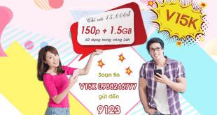 Hướng dẫn đăng ký gói cước V15K của Viettel