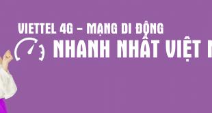 """Viettel giành giải thưởng """"Mạng di động nhanh nhất Việt Nam"""" của Speedtest"""