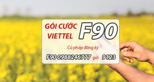 Hướng dẫn đăng ký gói cước F90 Viettel