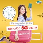 Đăng ký gói cước 5G của Viettel miễn phí data cực khủng