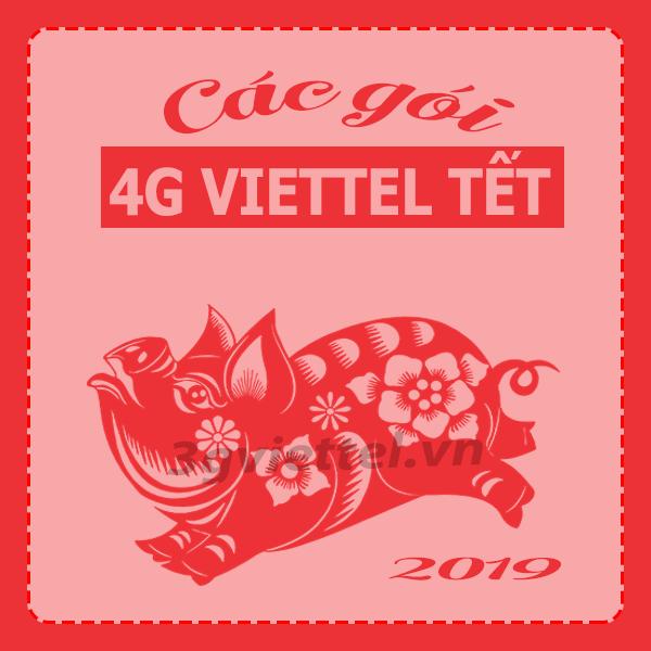 Nên chọn đăng ký gói cước 3G 4G Viettel nào để sử dụng thả ga tết kỷ hợi 2019