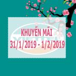 Viettel khuyến mãi từ 31/1/2019 - 1/2/2019 ưu đãi ngày vàng toàn quốc