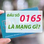 Đầu số 0165 chuyển thành đầu số nào?