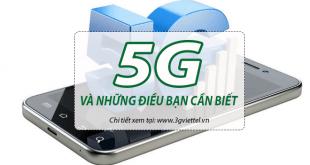 Khám phá bí ẩn về mạng không dây 5G