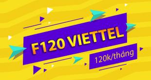 Thông tin chi tiết về gói cước F120 của Viettel