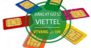 Cách giữ số sim Viettel