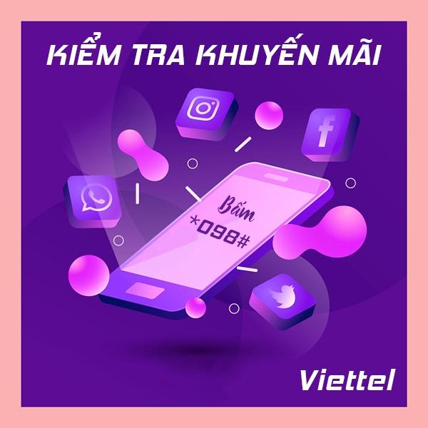 Hướng dẫn cách kiểm tra thông tin khuyến mãi Viettel
