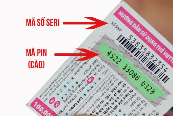 Hướng dẫn cách lấy lại mã số thẻ cào Viettel bị mất hoặc mờ số