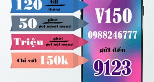 Hướng dẫn đăng ký gói cước V150 Viettel
