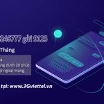 Ưu đãi data, gọi thoại miễn phí khi đăng ký gói V199 Viettel.
