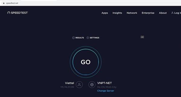 Hướng dẫn cách kiểm tra mạng 3G 4G Viettel trên PC