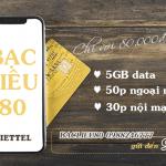 Hướng dẫn đăng ký gói cước BACLIEU80 Viettel