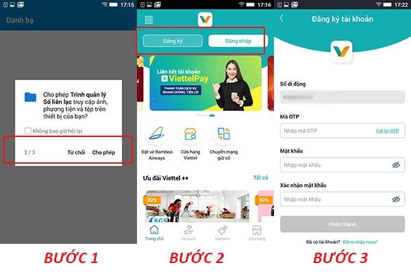 MY Viettel - cách tải và cài đặt ứng dụng MY Viettel trên Android miễn phí