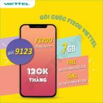 Thông tin chi tiết về gói cước khuyến mãi F120U Viettel