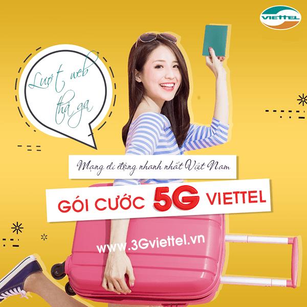 Hướng dẫn cách đăng ký gói cước 5G Viettel trọn gói không giới hạn dung lượng