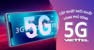 Cập nhật danh sách vùng phủ sóng 5G Viettel đầy đủ nhất