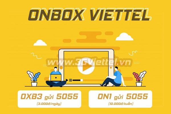 Đăng ký dịch vụ Onbox của Viettel