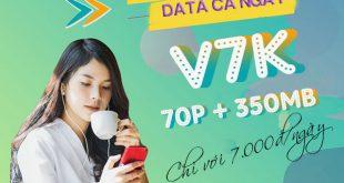 Hướng dẫn cách đăng ký gói cước V7K Viettel