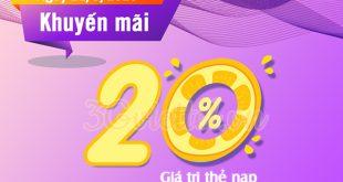 Khuyến mãi Viettel ngày 11/5/2020 ưu đãi ngày vàng toàn quốc