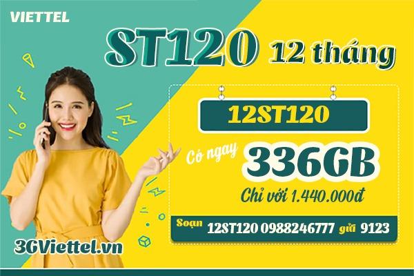 Hướng dẫn cách đăng ký gói cước 12St120 Viettel