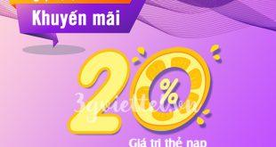 Viettel khuyến mãi ngày 10/7/2020 ưu đãi ngày vàng toàn quốc