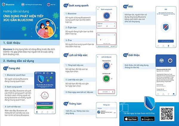 Hướng dẫn cách sử dụng ứng dụng Bluezone