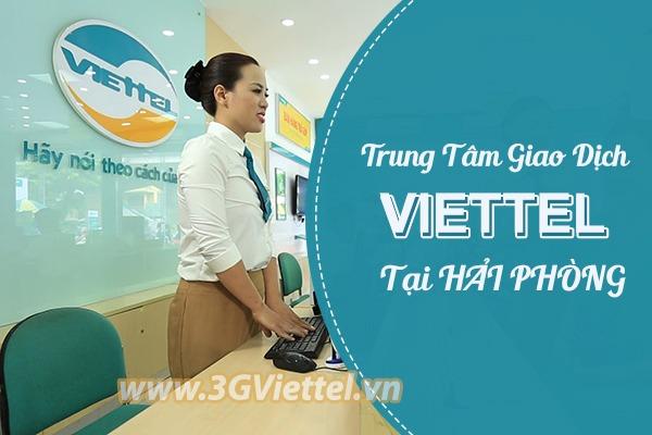 Danh sách cửa hàng giao dịch Viettel tại Hải Phòng
