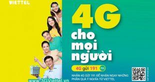 Cách nhận 150GB data 4G Viettel miễn phí gửi tặng bạn bè, người thân