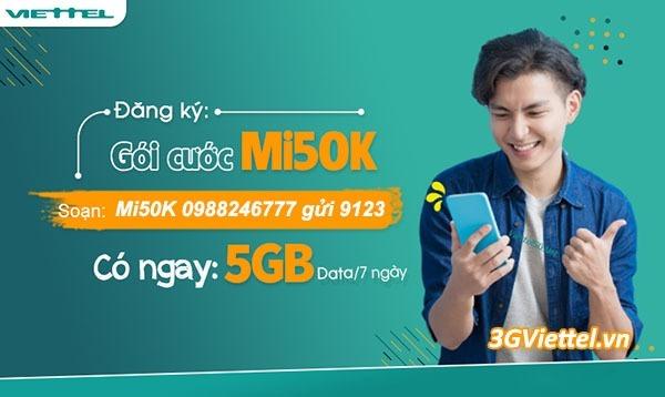 Bảng giá các gói cước 3G Viettel 3 ngày, gói cước 3G Viettel 7 ngày