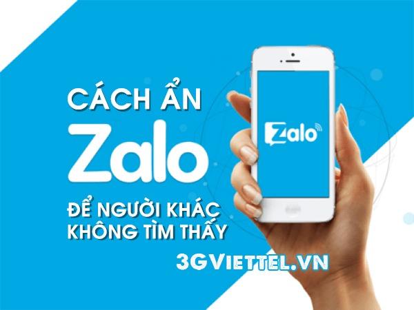 Hướng dẫn cách ẩn Zalo để người khác không tìm thấy tài khoản của bạn