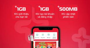 Chương trình cài đặt, giới thiệu My Viettel nhận 1GB data
