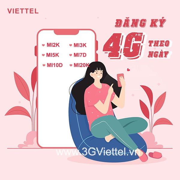 Hướng dẫn đăng ký gói cước 4G Viettel 1 ngày sử dụng 24h giá rẻ