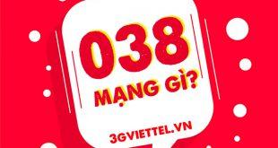 038 là mạng gì? 038 đổi từ đầu số nào?